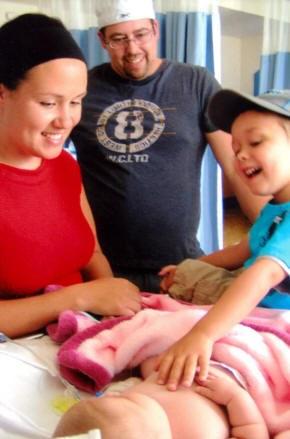 Sofianne et sa famille