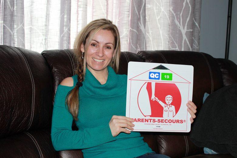 Mélissa Pomerleau de Parents-Secours