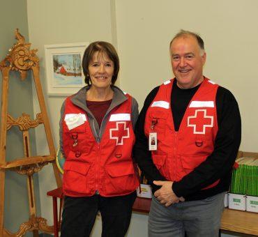 Bénévoles de la Croix-Rouge