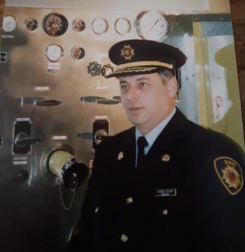 M. Jacques Gélinas, pompier