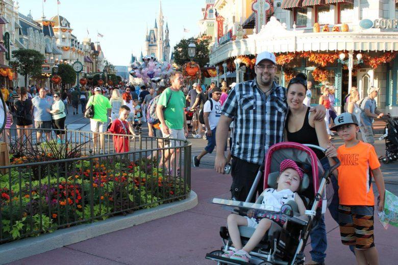 Famille Cossette-Boucher à Disney