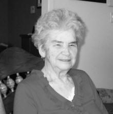 Madame Yvette Leblanc Benoit