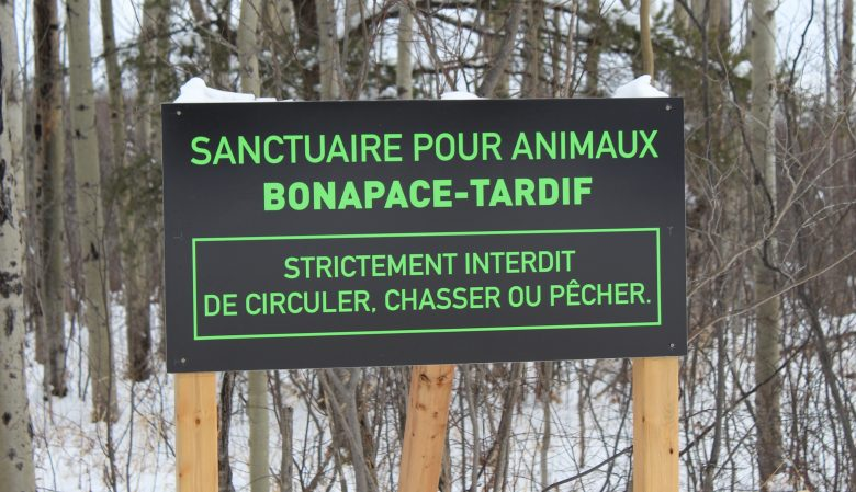 Sanctuaire pour animaux Bonapace-Tardif