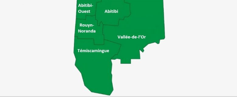 Abitibi-Témiscamingue en vert