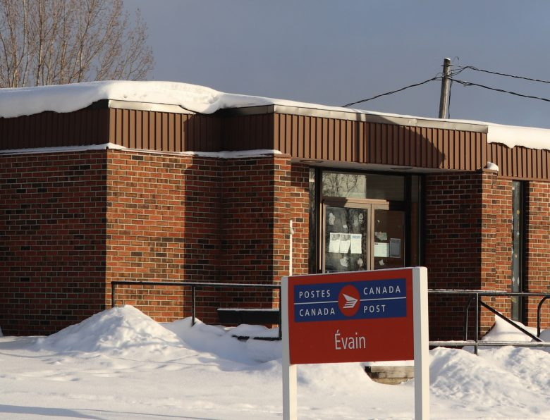 Bureau de poste d'Évain