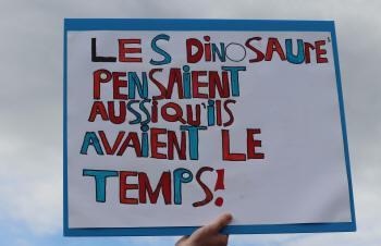 Les dinosaures pensaient aussi qu'ils avaient le temps!