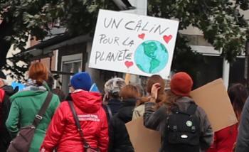 Un câlin pour la planète