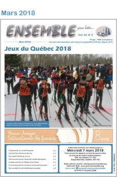 Journal Ensemble, mars 2018, format PDF
