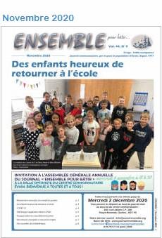 Journal Ensemble pour bâtir, novembre 2020