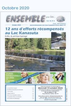 Journal Ensemble pour bâtir, octobre 2020