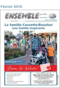Journal Ensemble pour bâtir, février 2016