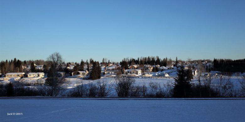 Quelques maisons du village d'Évain