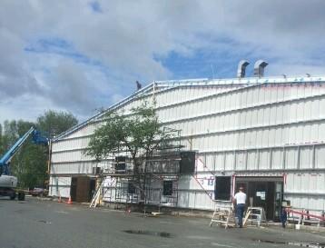 Centre communautaire en rénovation