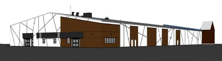 Plan du Centre communautaire