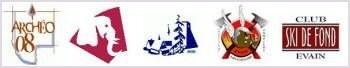 Logos d'organismes à Évain
