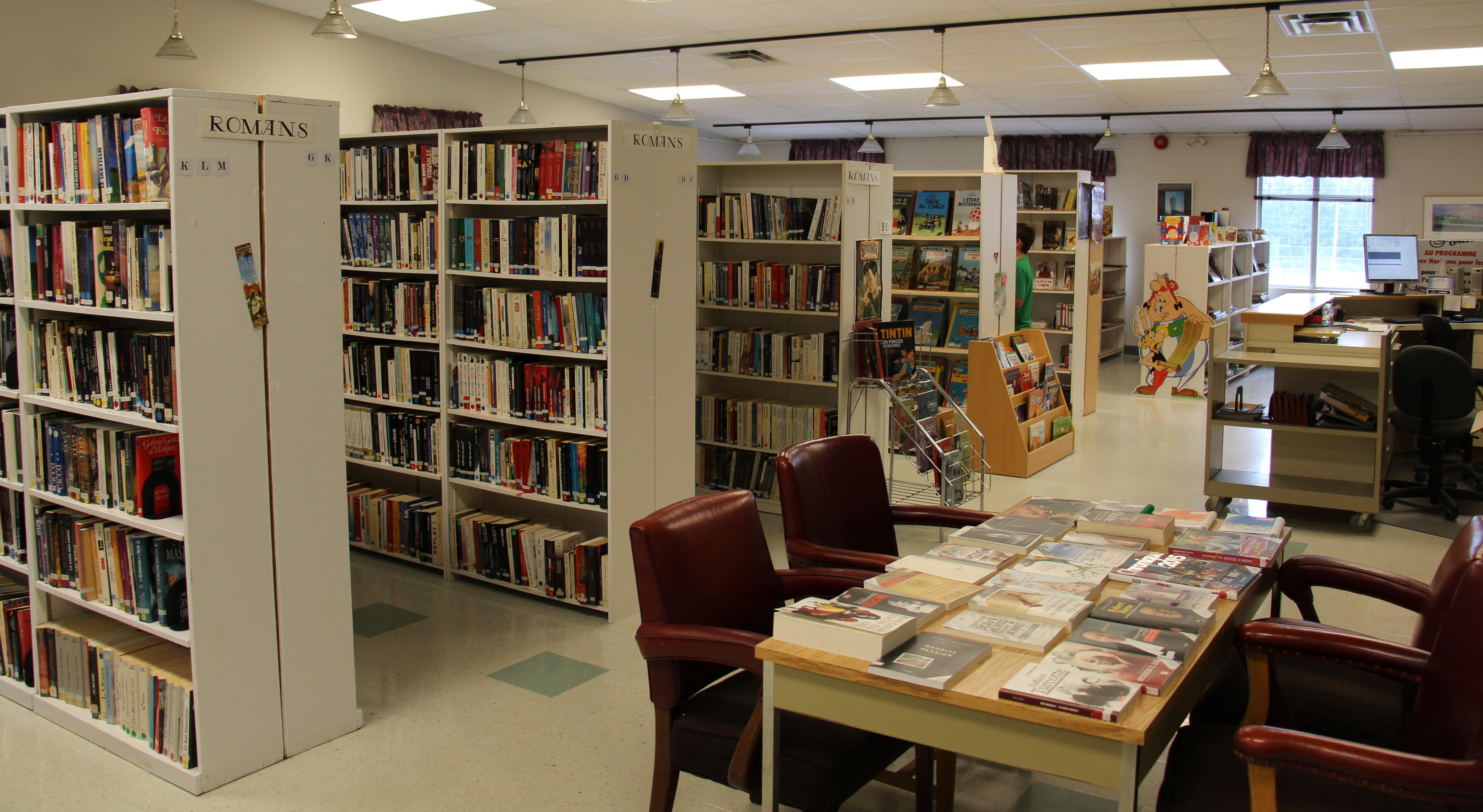 Bibliothèque d'Évain