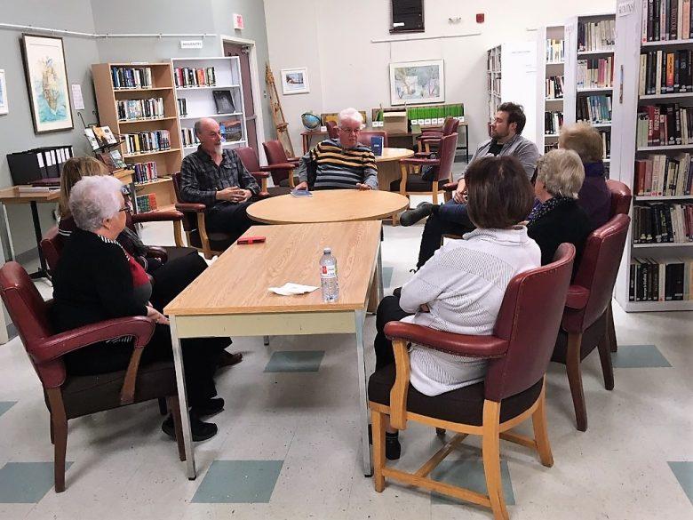 Rencontre d'auteurs à la bibliothèque d'Évain