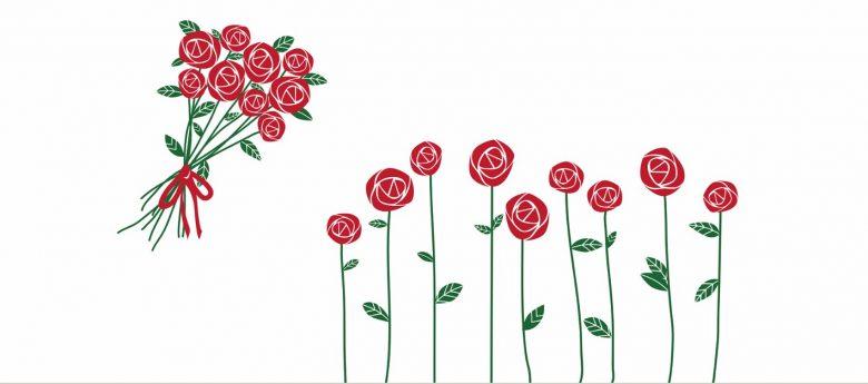 Roses pour la fête des Mères