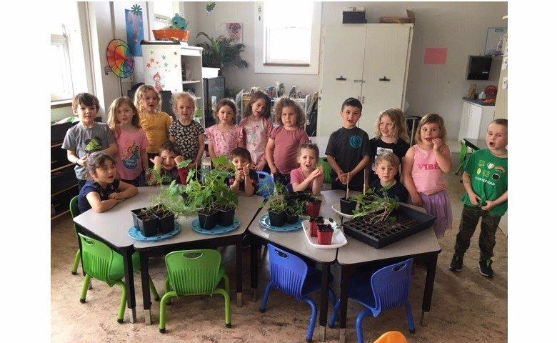 Classe de maternelle 4 ans