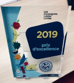 Les Compagnies Loblaw -2019 - Prix d'excellence