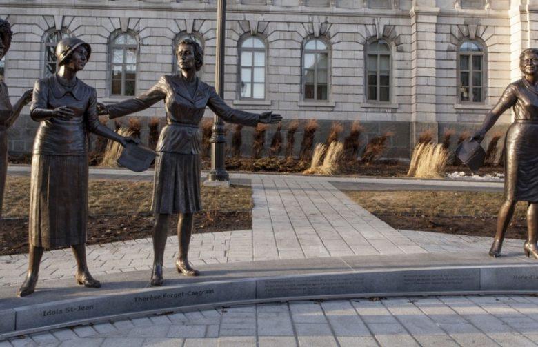 Monument Hommage aux femmes en politique