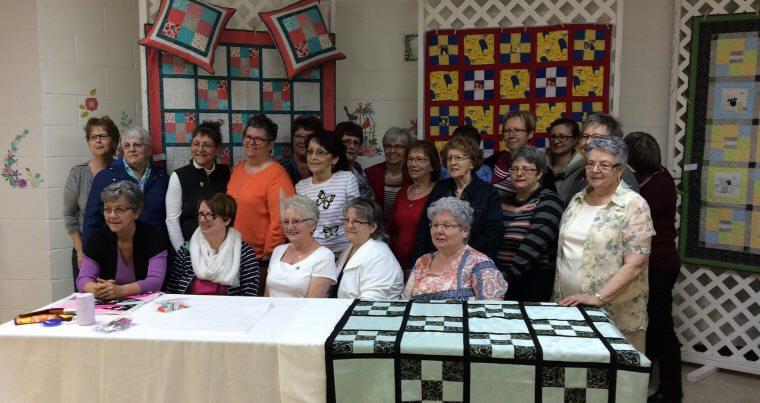 Photo du groupe de dames fermières