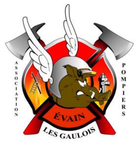 Logo de l'Association des pompiers d'Évain