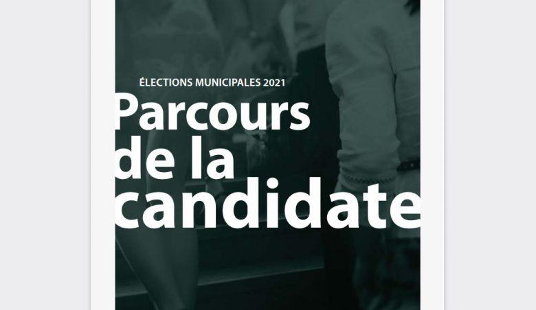 Parcours de la candidate 2021