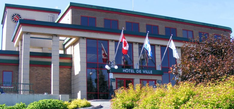Hotel de ville Rouyn-Noranda