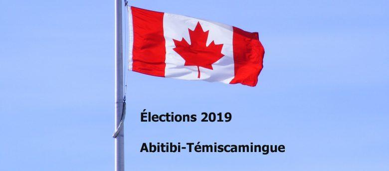 Élections 2019 Abitibi-Témiscamingue
