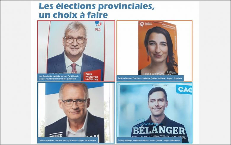 Choix Elections 2018