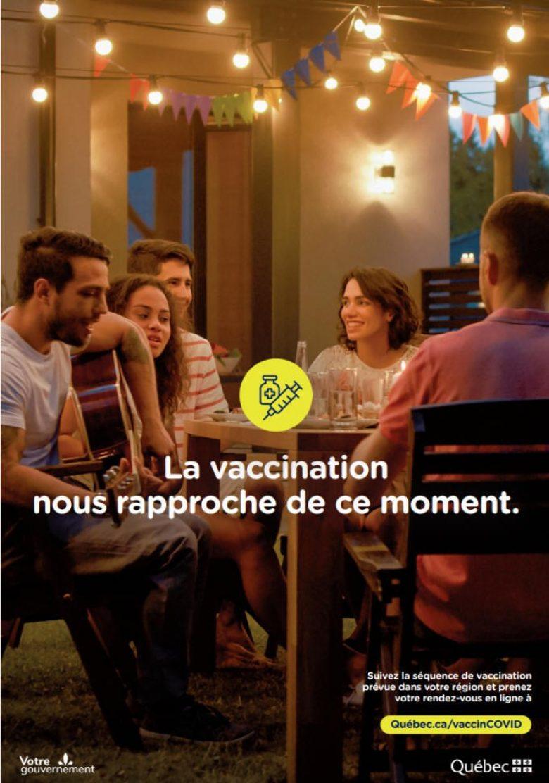 La vaccination nous rapproche de ce moment...