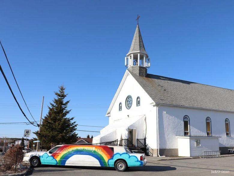 Église d'Évain, limousine Ça va bien aller