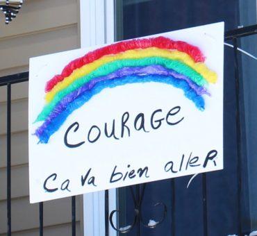 Courage, ça va bien aller!