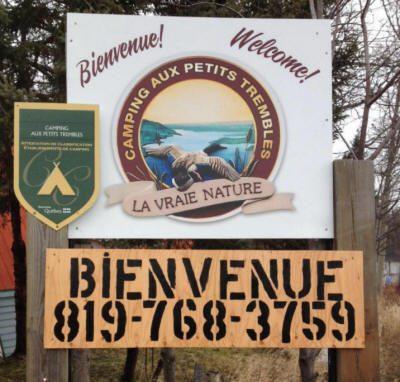 Bienvenue Camping Aux Petits Trembles