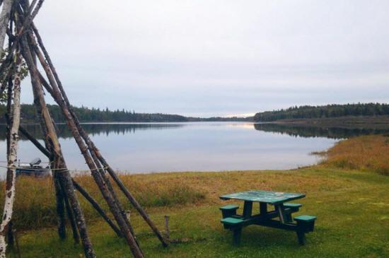Lac Flavrian, Évain, Québec