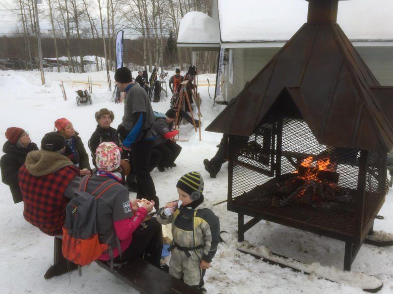 Bonne ambiance Jeux du Québec à Évain